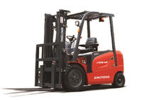 Electric Powered Forklift Truck With High Efficiency
